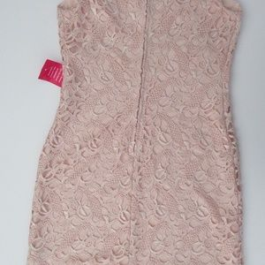 Lauren Ralph Lauren Dresses - Lauren Ralph Lauren Pink Lace Cocktail Dress
